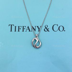 Authentic Tiffany & Co  Open wave Necklace